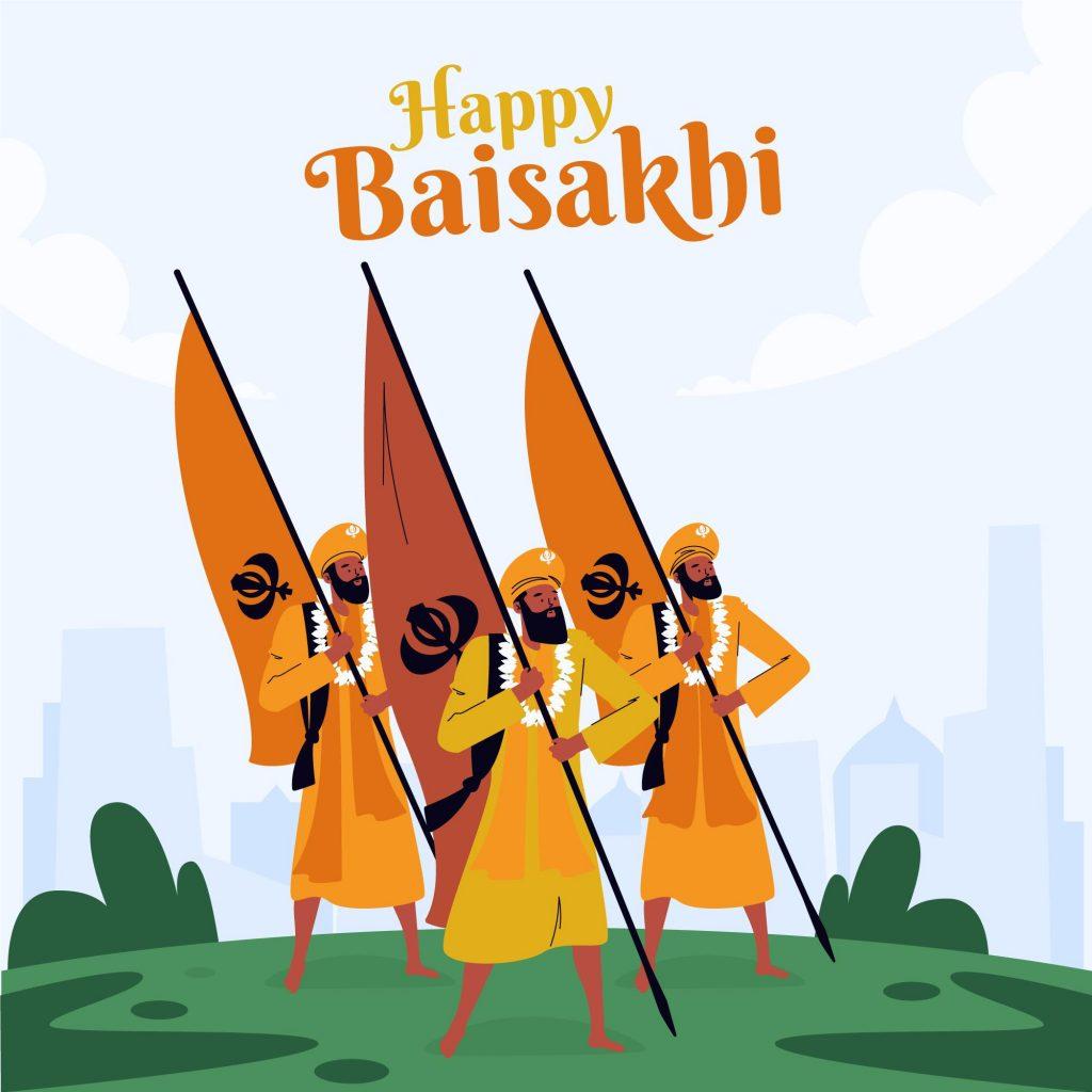 happy baisakhi 2021 wallpaper
