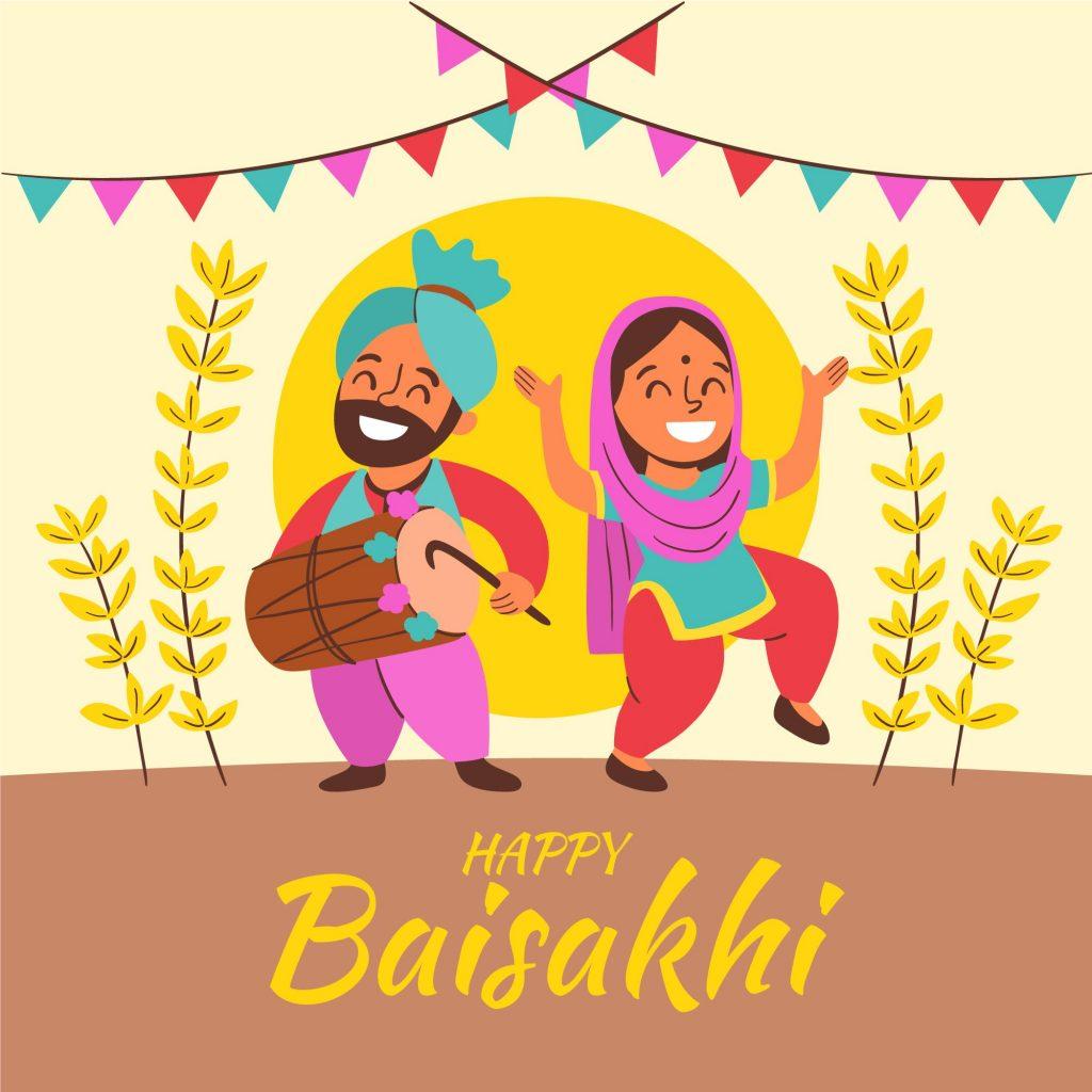 happy baisakhi image download