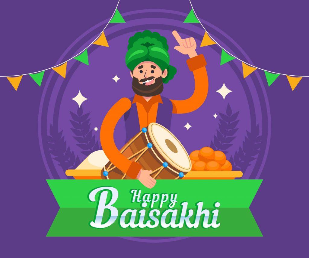 happy baisakhi photo download