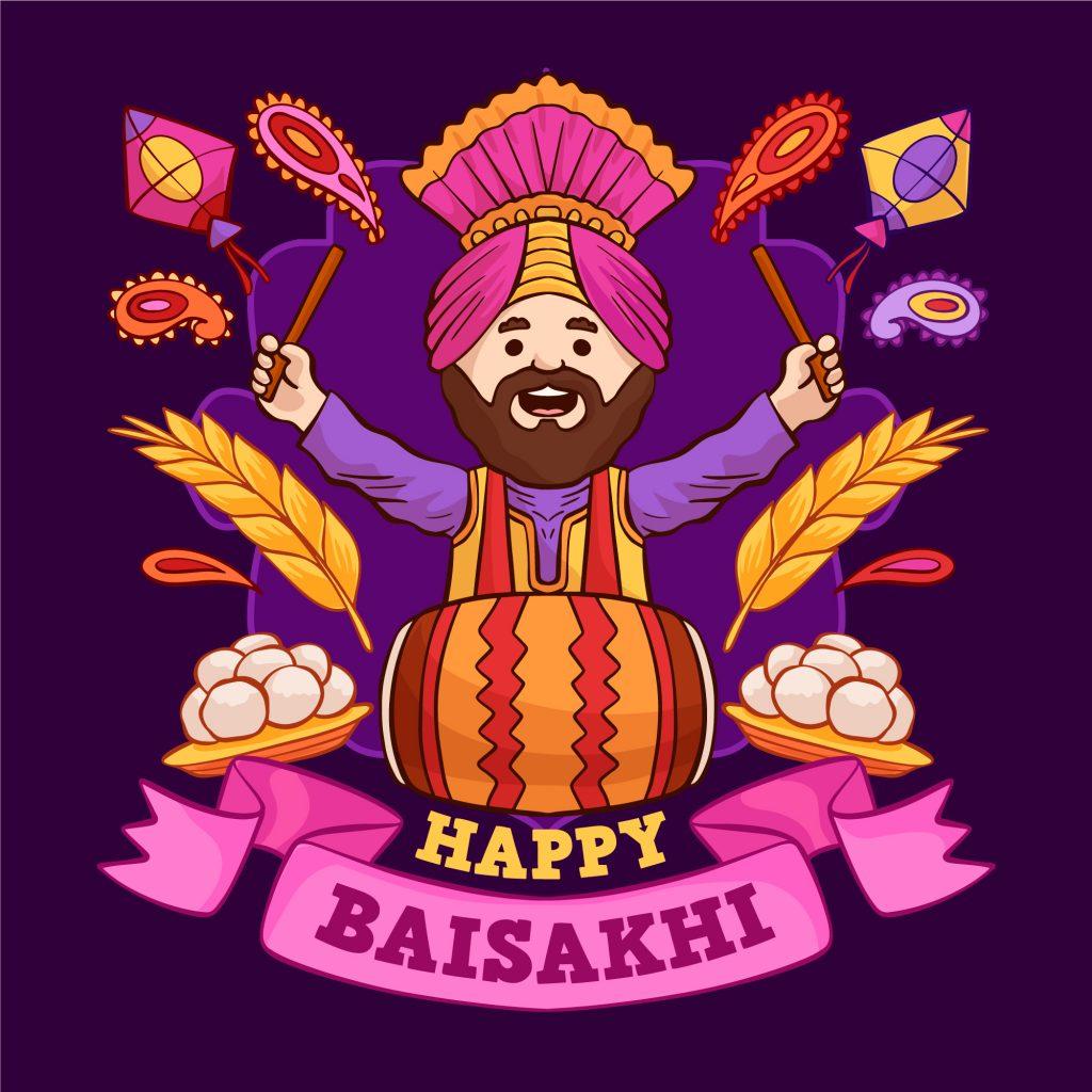 happy baisakhi wallpaper download