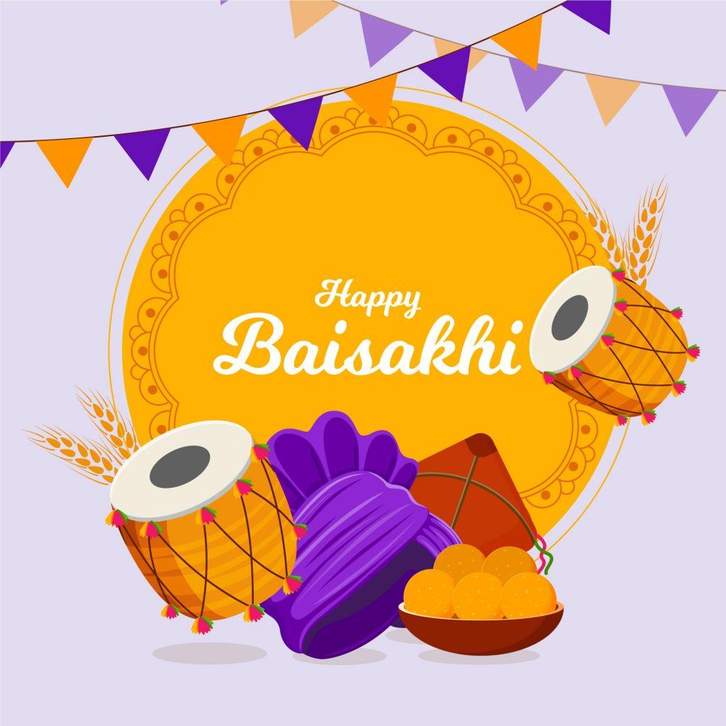happy baisakhi 2021 image