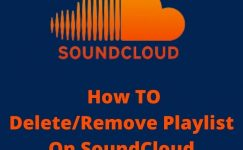 How To Delete/Remove Playlist On SoundCloud