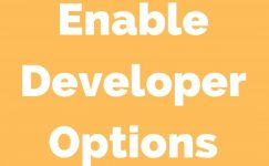 How To Turn On Developers Options In MI Smartphone