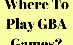 Where To Play GBA Games Online?