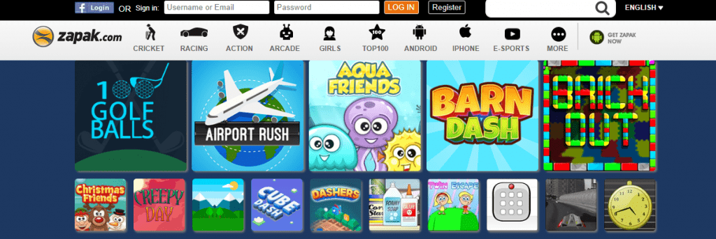 Zapak.com Where To Play GBA games