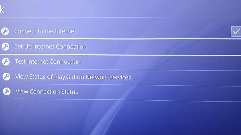 setup internet connection