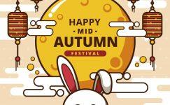 Happy Mid Autumn HD Image & Photo Free Diwnload 2021