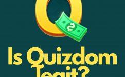 Is Quizdom legit?